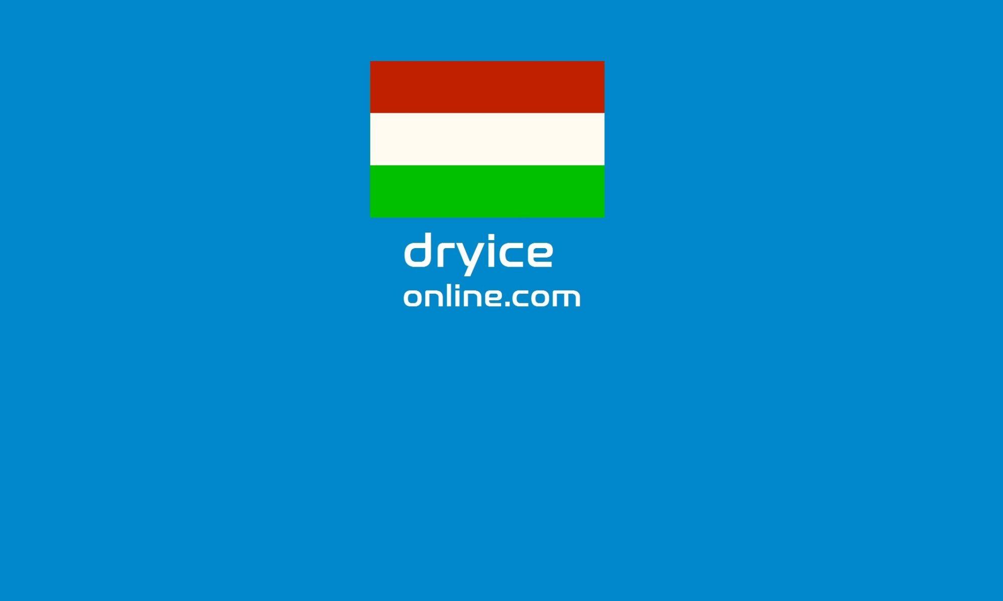 szárazjég vásárolni Magyarországon